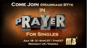 Single Man's Marriage Prayer