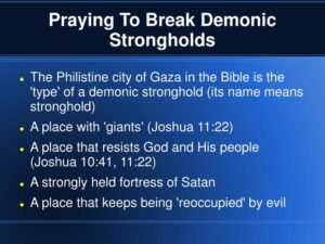 Prayer To Break Any Strongholds In My Life