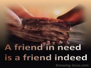 Prayer for a Friend Under Attack