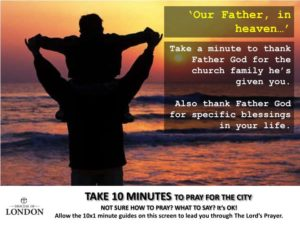 Our Father, we thank You for our Church Family