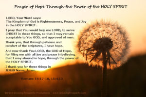 Prayer Of Thanks For The Holy Scriptures
