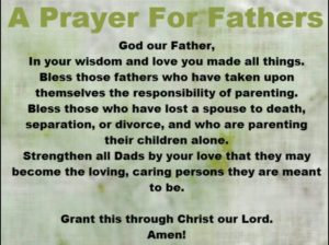 Prayer For A Father Who Is An Alcoholic