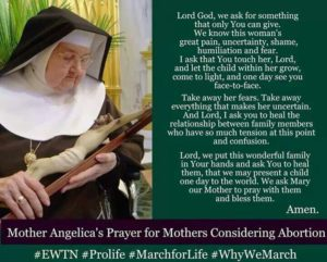 Prayer For Mothers Considering an Abortion