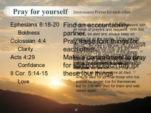 Prayer for Personal Accountability