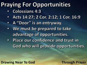 Prayer For New Job Opportunities