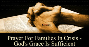 Prayer For Sufficient Grace