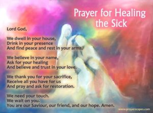 Prayer For The Recovery Of A Friend