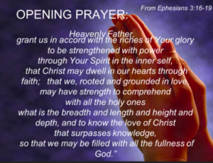 Prayer For A Heavenly Vision