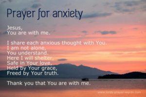 Prayer For Stress In School