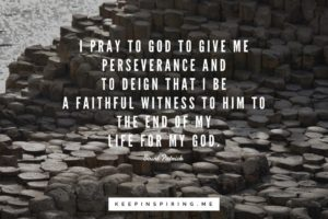 Prayer To Be Good and Faithful Witness to You