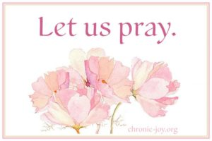 Prayer For A Baby's Chronic Illness