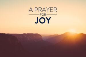 Prayer For Joy In Work