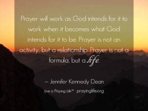 Prayer For Grace To Live As God Intends