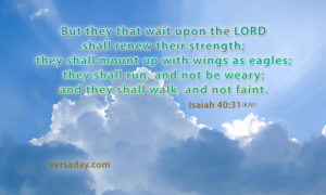 Prayer To Wait on the Lord For Renewed Strength