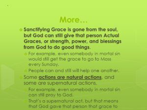 Prayer For Sanctifying Grace