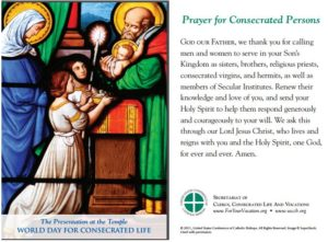 Prayer To Live A Consecrated Life
