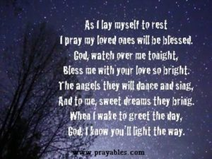 Bedtime Prayer For Adults