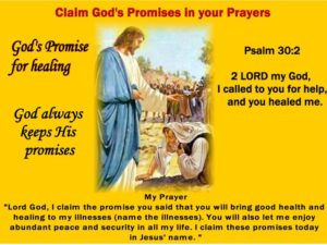 Prayer For God's Promise Of Peace