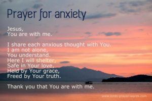 Prayer For A Stressful Day