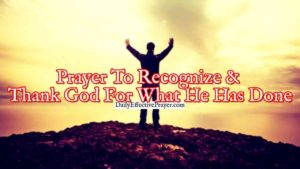 A Prayer Of Thanks For Godly Mentors