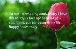 Praise To God For Another Wedding Anniversary