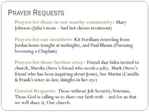 Prayer For Those Looking For  Job