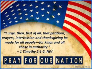 Prayer Of Intercession For Our Nation
