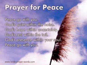 Christian Woman's Prayer For Peace Of Mind