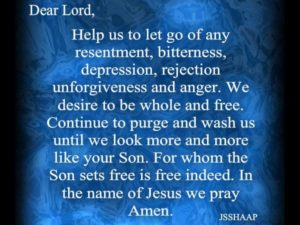Prayer For Help With My Anger And Resentment
