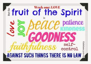 A Prayer To Produce The Fruit Of The Spirit