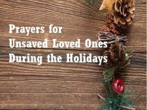 Prayer For An Unsaved Spouses