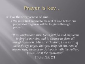 Prayer Of Forgiveness From A Guilty Sinner