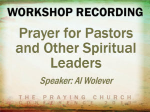 Prayer For Spiritual Leaders