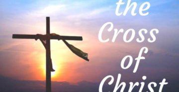 Prayer Of Thanks For The Cross Of Christ