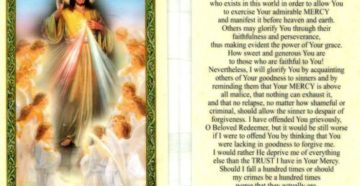 A Prayer To Develop Mercy Towards Others