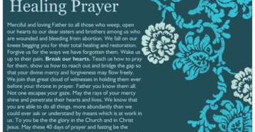 Prayer For Healing After An Abortion
