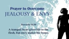 Prayer to Overcome Jealousy