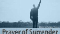 Evening Prayer Of Surrender
