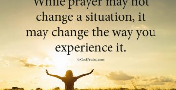 Prayer To Change My Home Situation