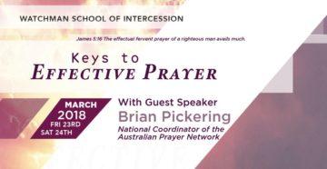 Prayer To Be An Effective Spiritual Watchman
