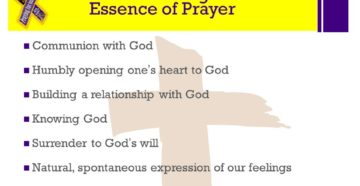 Prayer For Understanding To Pray Into God's Will