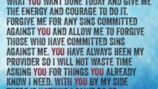 Prayer To The Father Who Is My Courage