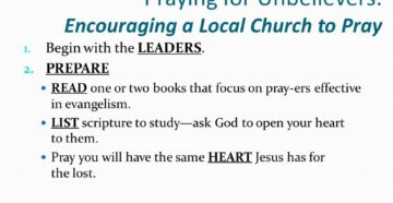 Prayer For Unbeliever Close to Death