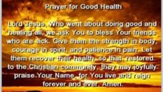 Prayer For My Sister's Health and Healing
