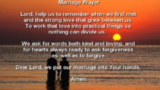 Single Woman's Marriage Prayer
