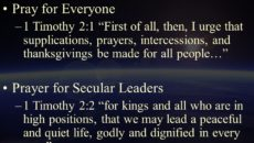 Prayer For Intercessory Groups