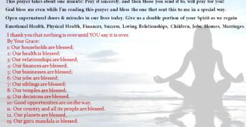 Prayer To Do God's Will