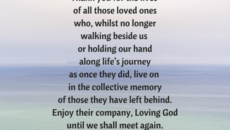 Prayer For The Loss Of An Adult Son