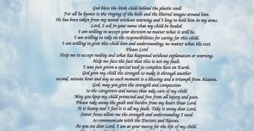 Prayer For A Premature Baby