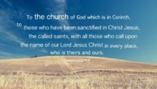 Prayer For The Church To Be Sanctified